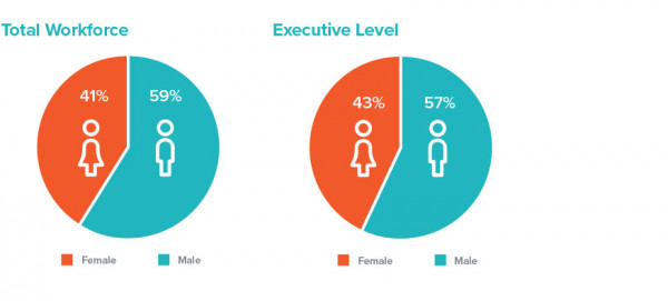 Total Infracom Workforce Gender Breakdown